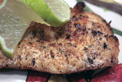 seared chicken breast